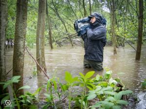 Kameramann Tilo in der Saale