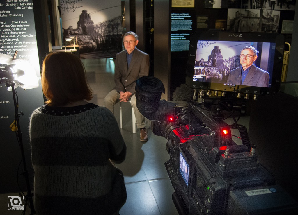Interview mdr LexiTV - LxPRESS Kameramann