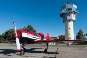 Kamermann Kunstflug für MDR um Vier