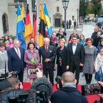 Besuch des Schwedischen Königspaares in Wittenberg