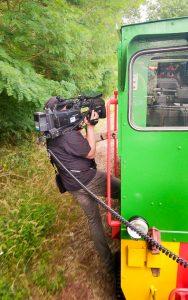 Kameraeinsatz auf Schienen in Meuselwitz