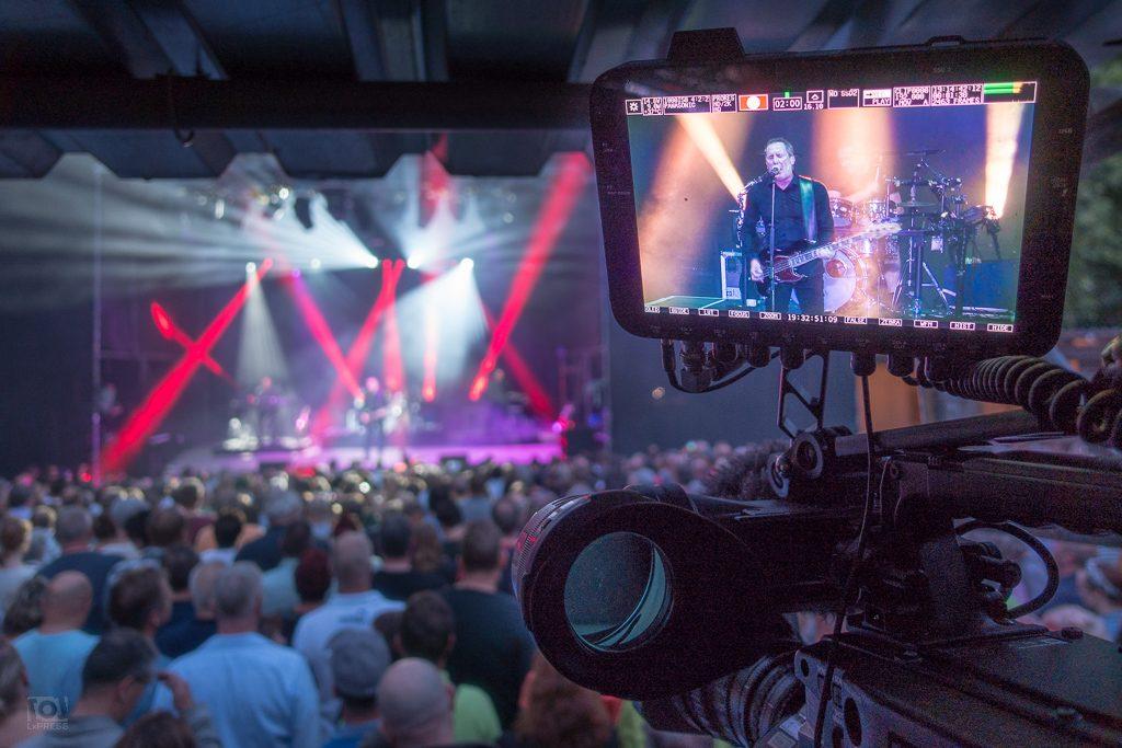 OMD Konzert in der Parkbühne Leipzig (Kameramann Leipzig)