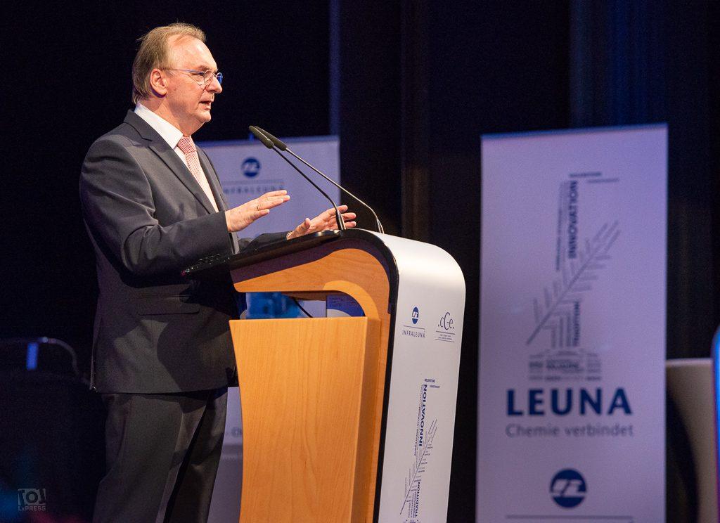 Ministerpräsident Dr. Reiner Haseloff, cCe Kulturhaus Leuna 2018