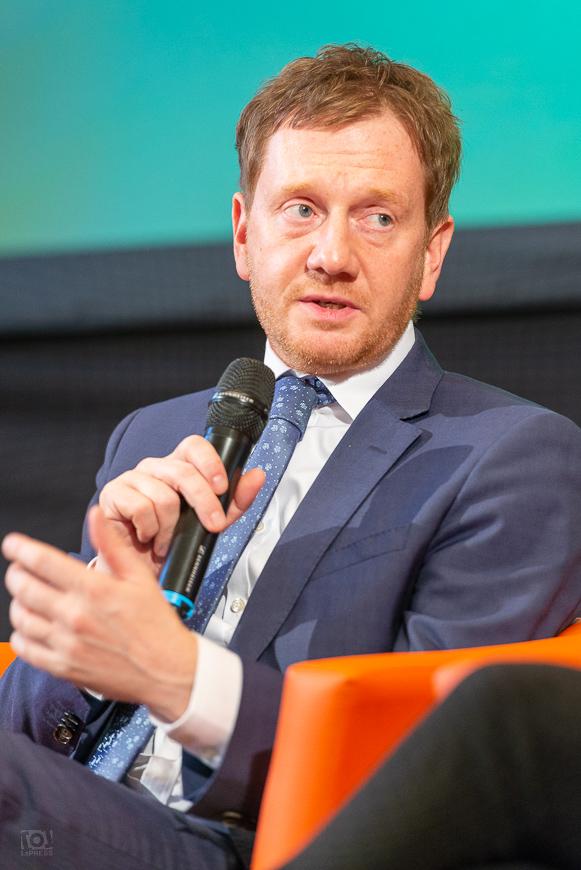 Ministerpräsident Michael Kretschmer