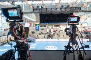 Live-Kameramann Champions League Handball