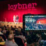 Marion Mitterhammer und Hans Günther Bücking bei der Premiere von Loybner in Bleicherode