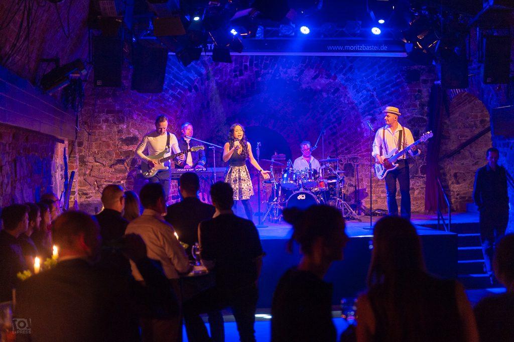 Band Nightfever - Moritzbastei Leipzig