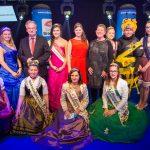 Gruppenbild der Königinnen mit Ministerpräsident Haseloff - IGW 2019