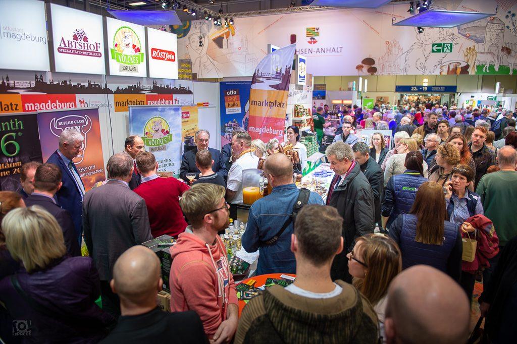 Sachsen-Anhalt-Halle auf der Grünen Woche 2019