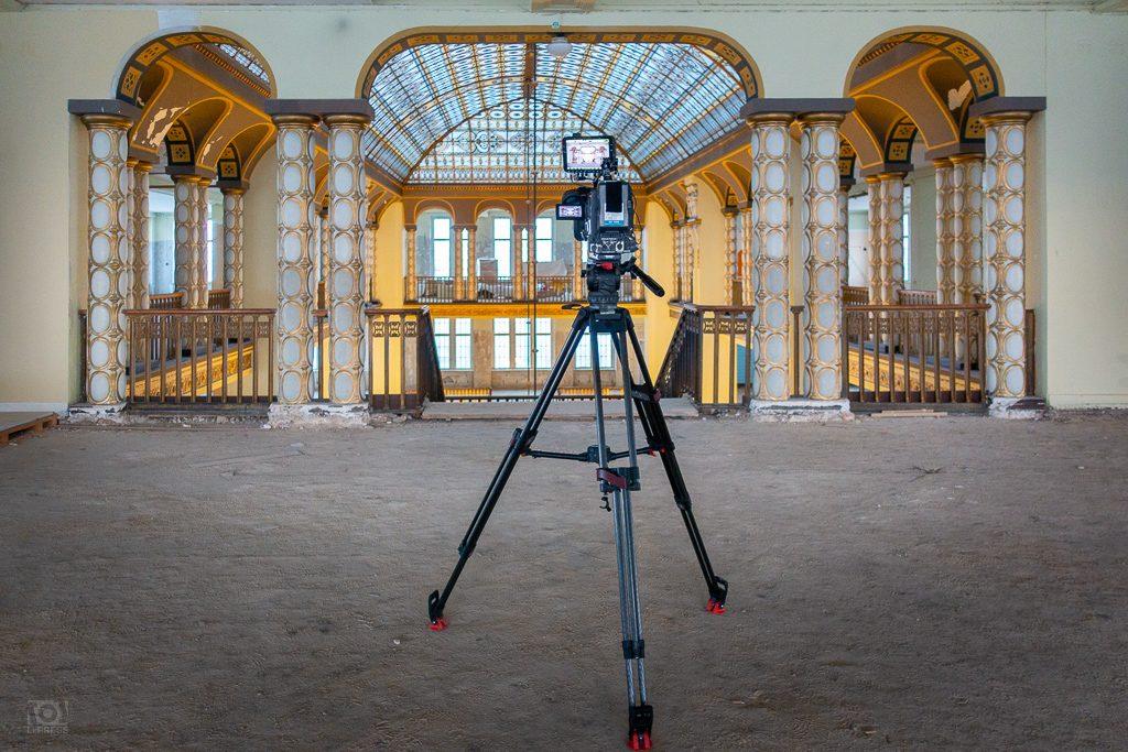 MDR-Kamera im Warenhaus Görlitz