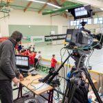 Live-Kameramann Fußball Sondershausen