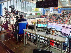 Live-Kamera Champions-League Handball