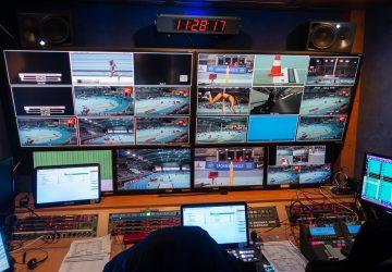 Ü-Wagen - Deutsche Leichtathletik Hallenmeisterschaften 2019