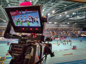 Livekamera - Deutsche Leichtathletik Hallenmeisterschaften 2019