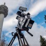 Fernsehturm Kulpenberg vor der MDR-Kamera