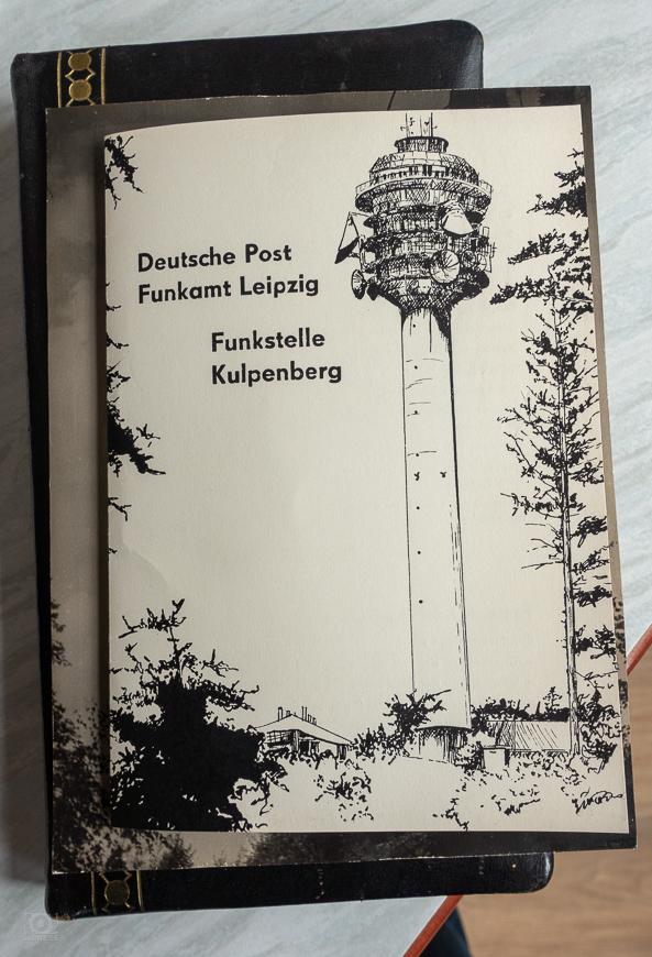 Deutsche Post - Funkamt Leipzig - Funkstelle Kulpenberg