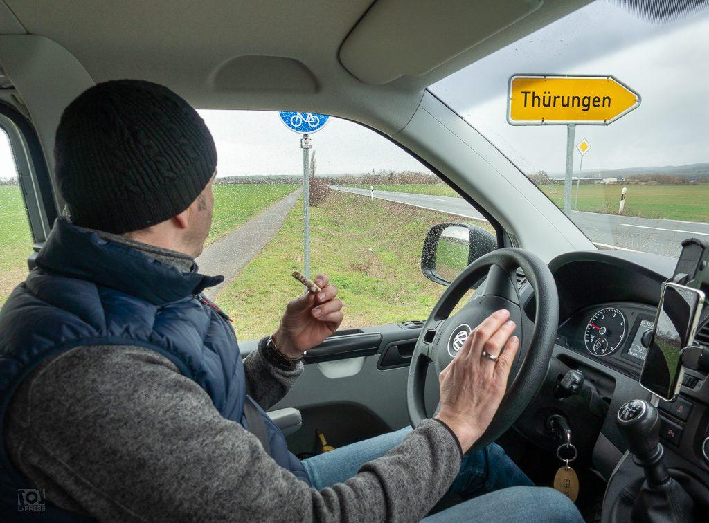 Wir wollten doch nach Thüringen... oder Thürungen?
