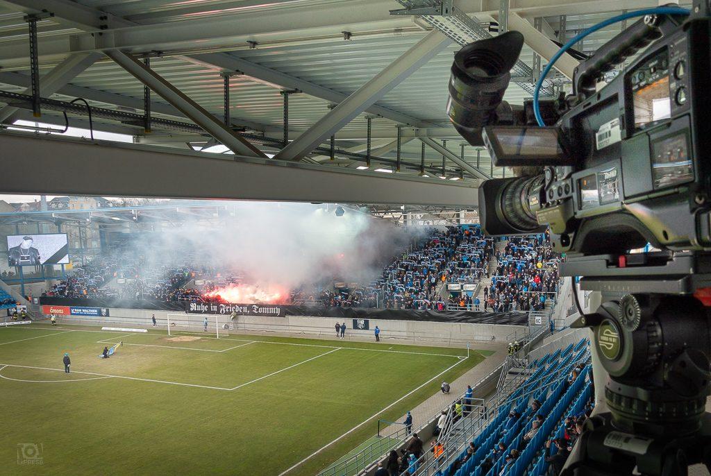 Stadion an der Gellertstraße - Chemnitz