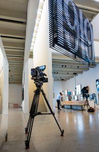 Dreh für Arte im Bauhaus-Museum Weimar