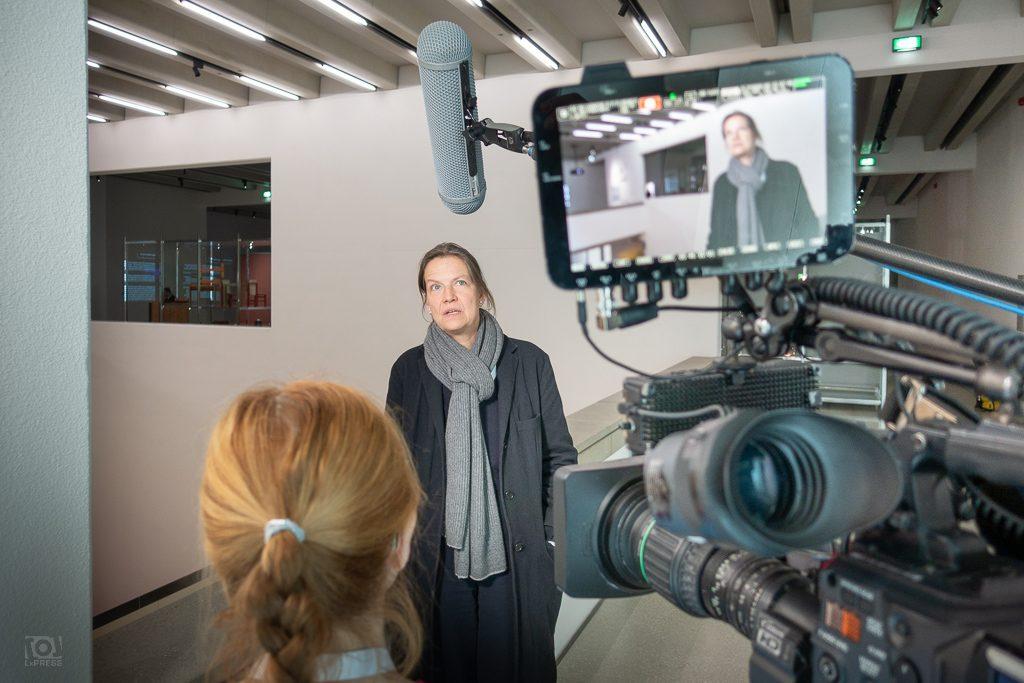Prof. Heike Hanada - Architektin des Bauhaus Museums Weimar - im Arte-Interview