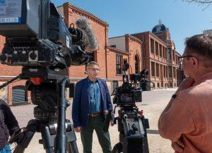 Interview mit Oberbürgermeister Volker Holuscha