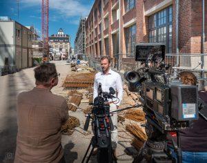 Interview in den Bleichert-Werken Leipzig
