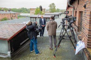 Interview mit Oberbürgermeister Robby Risch in Weißenfels