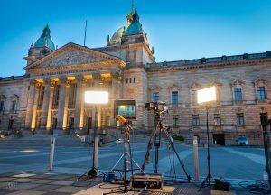 Live-Kameramann ZDF heute journal