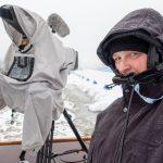 E-Kameramann beim Biathlon Worldcup