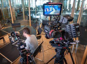 Kameramann Skype-Interview
