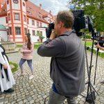 Kameramann im Kloster Panschwitz-Kuckau