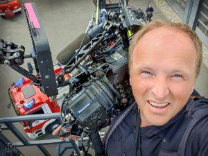 Kameramann Feuerwehr Sömmerda