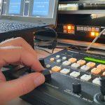 PTZ Remote-Operator bei Liveübertragung
