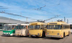 O-Bus Tradition in Eberswalde - MDR-Kameramann