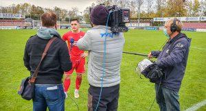 Kameramann Fußball