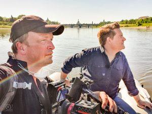 Elbeschwimmen Dresden - Kameramann