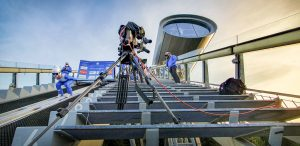Skispringen - Sommer Grand Prix - Ü-Wagen