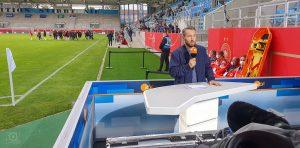 ZDF Live-Kameramann Fußball